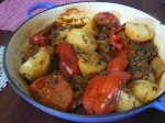 Lamb, Potato & Tomato Tajine